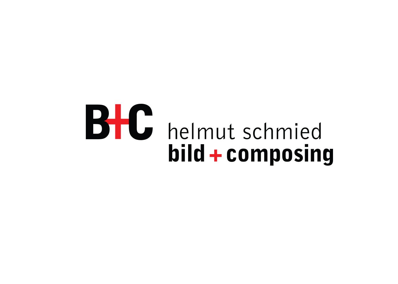 Logo Design Alexandra Siebert für Bild und Composing Helmut Schmied Ladenburg