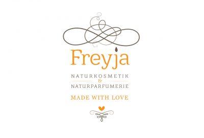 Logo Design Alexandra Siebert für Freyja Naturkosmetik