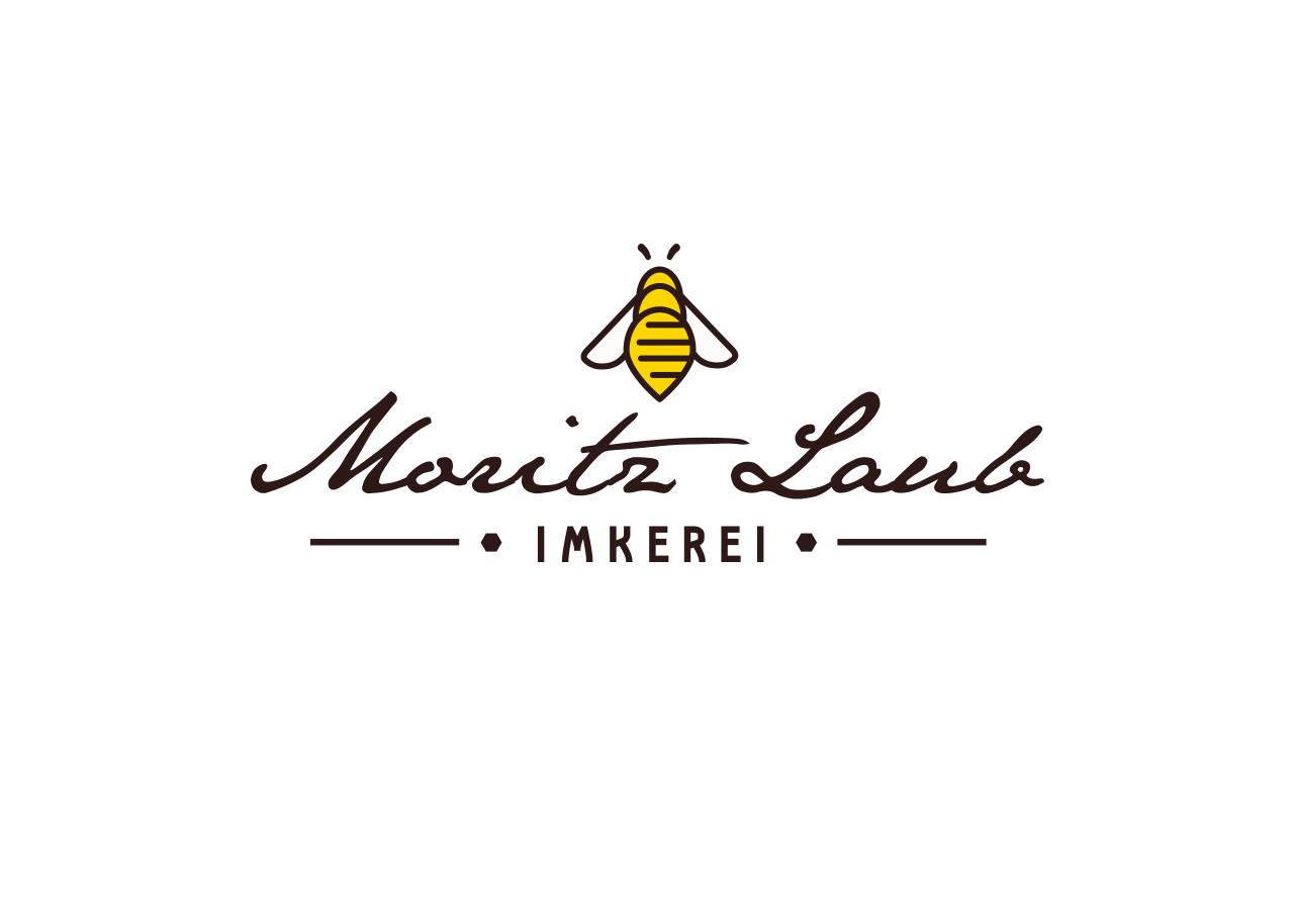 Logo Design Alexandra Siebert für Imkerei Moritz Laub