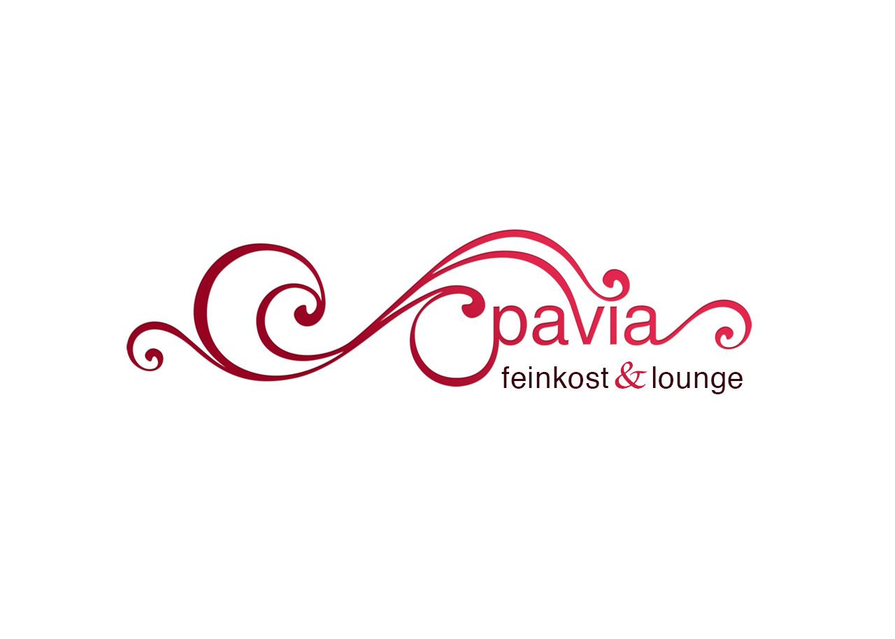 Logo Design Alexandra Siebert für Pavia Feinkost und Lounge