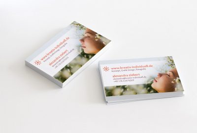 Grafik Design Alexandra Siebert Business Cards